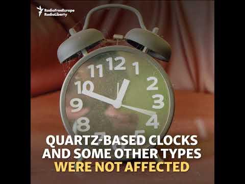 Europe Alarmed By Slowing Clocks