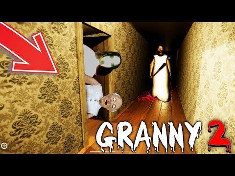 НОВАЯ КОНЦОВКА В ГРЭННИ 2 + СЛЕНДЕРИНА! - Granny 2 хоррор Гренни новый конец финал