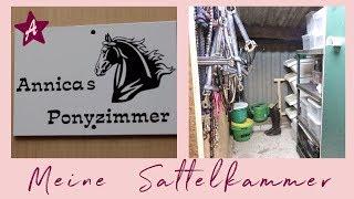 Mein Pferde Zimmer ROOMTOUR I Spind Update I Traum Sattelkammer statt Reitschrank