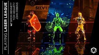 Playing Laser League - Developer Diary w/ Roll7's Simon Bennett, Tom Hegarty & John Ribbins [PEGI]