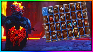 "Before You Buy ""MOLTEN CRESTED CAPE"" - All Skin Combinations Showcased in Fortnite (148+ Skins)"