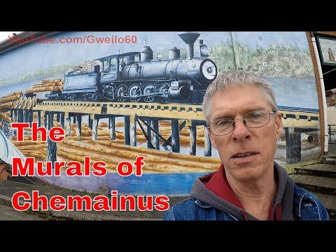 The Murals Of Chemainus, British Columbia