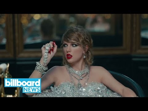Taylor Swift Unveils 'Reputation' Tracklist, Confirms Future & Ed Sheeran Collab | Billboard News