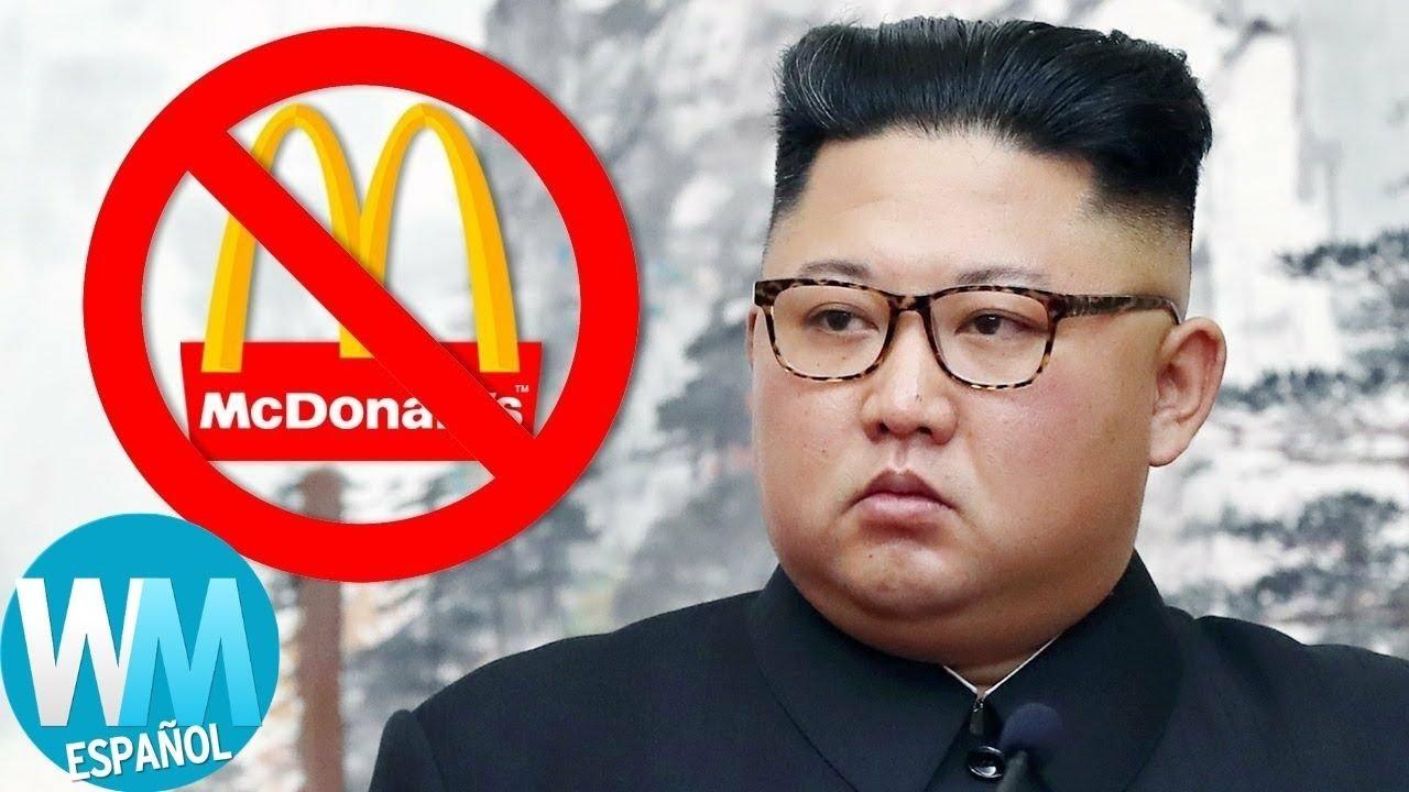 ¡Top 10 de los Países que NO TIENEN McDonald's!