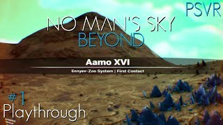 No Man's Sky Beyond PSVR Playthrough #1 (The First 40 Minutes of Hell... But in VR)