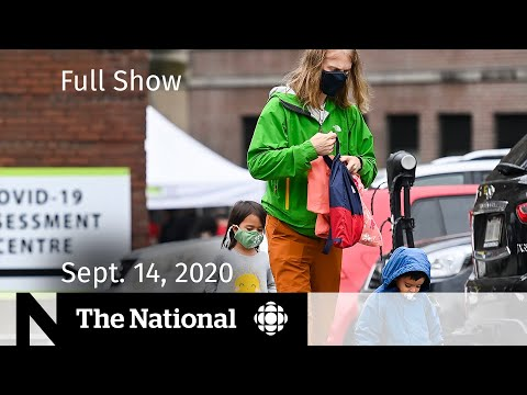 CBC News: The National | Sept. 14, 2020 | Canada's rising COVID-19 cases; Life on Venus