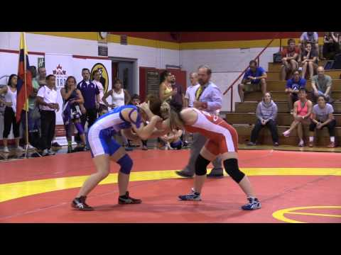 2014 Canada Cup: 55 kg Victoria Day (CAN) vs. Amber Maschke (CAN)