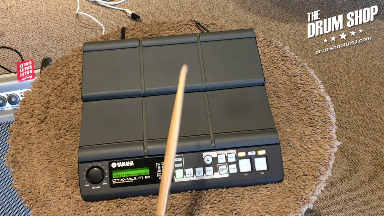 Yamaha Dtx Multi 12 Percussion Pad Gear Demo The Drum