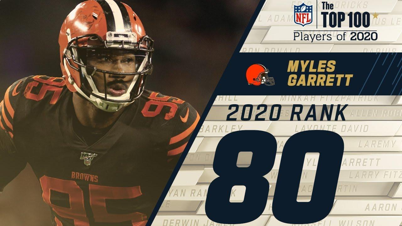 #80: Myles Garrett (DE Browns) | Top 100 NFL Players of 2020 – NFL
