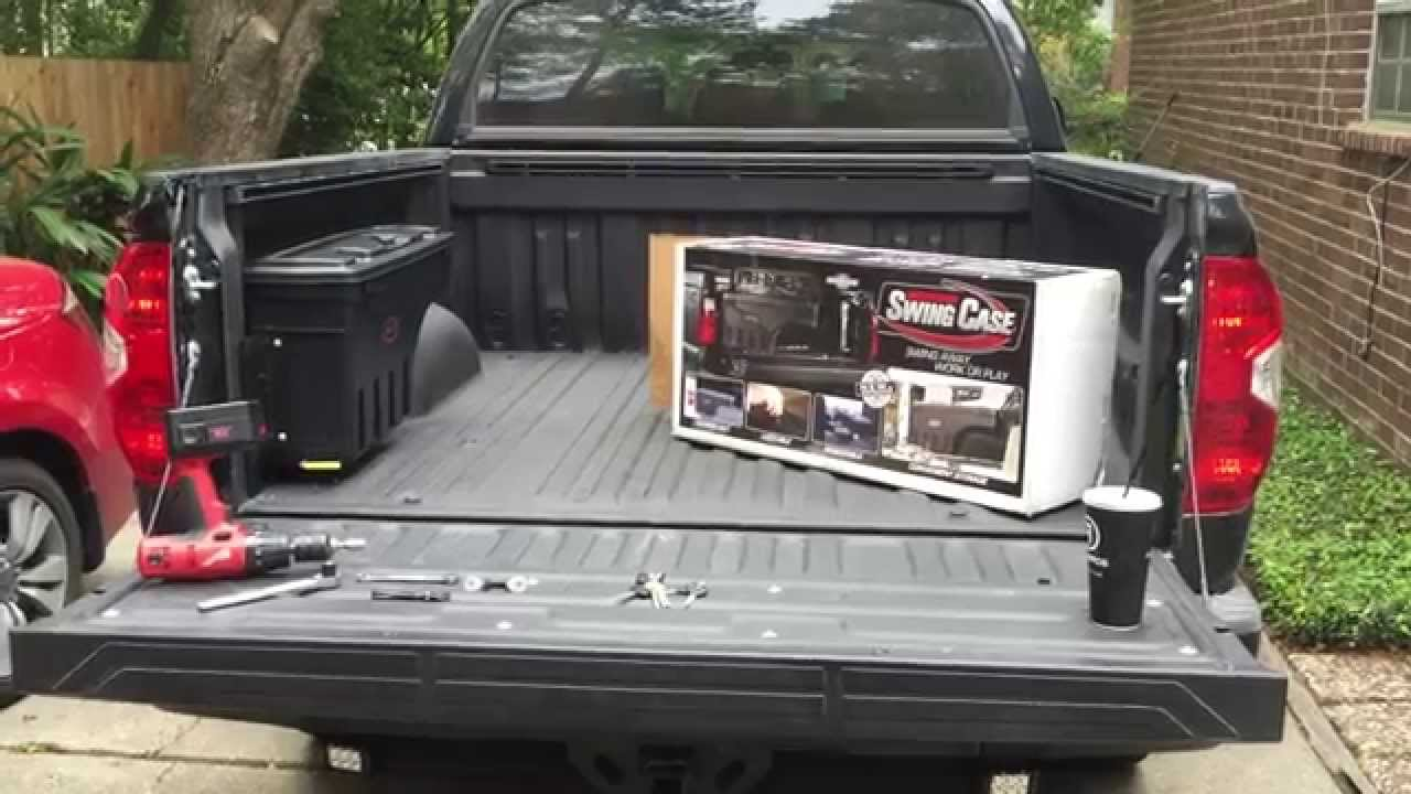 Toyota Tundra Undercover Swing Case Install Review Youtube