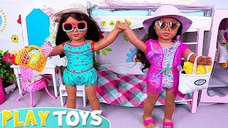 Baby Dolls Dress up Swimsuits for Beach Day Play!