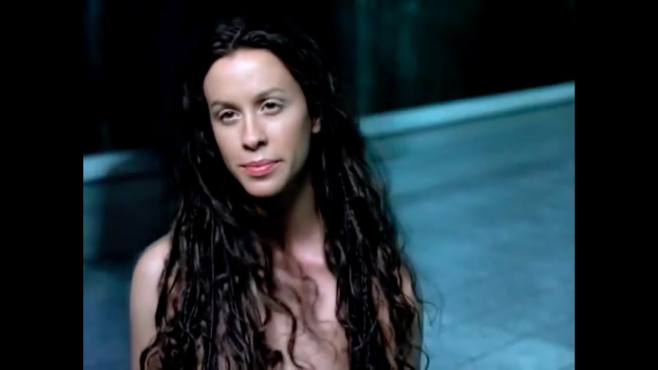 Perfect ass! alanis morissette music video naked damn sexy