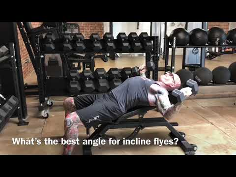 Incline Dumbbell Flyes Tip.