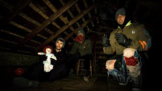 OVERNIGHT in HAUNTED AXE MURDER HOUSE (Conjuring the Killer)