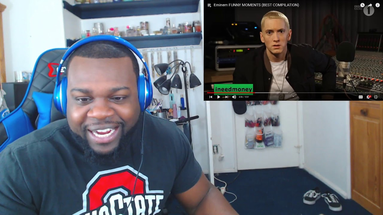 Eminem FUNNY MOMENTS BEST COMPILATION | Reaction