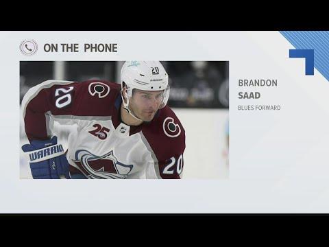 Brandon Saad talks