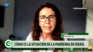 Una oftalmóloga tucumana cuenta cómo es la situación de la pandemia en Israel