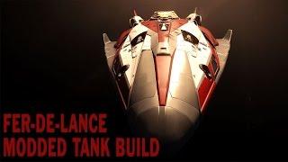 Elite:Dangerous. Fer-de-Lance Shield Tank build