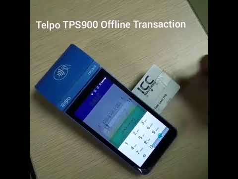 Telpo PoS Machine TPS900 Supports Online and Offline POS Transaction