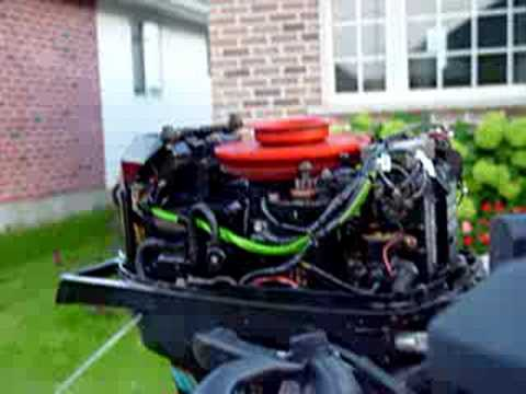 Mercury Wiring Diagram 1977 Mercury 402 Strange Idle Youtube