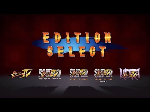 Ultra Street Fighter IV Edition Select Trailer