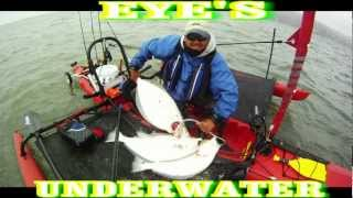 How to install a fish finder transducer inside a kayak