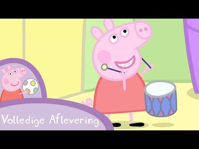 Peppa Pig Nederlands Compilatie Nieuwe Afleveringen | Muziekinstrumenten | Tekenfilm | Peppa de Big