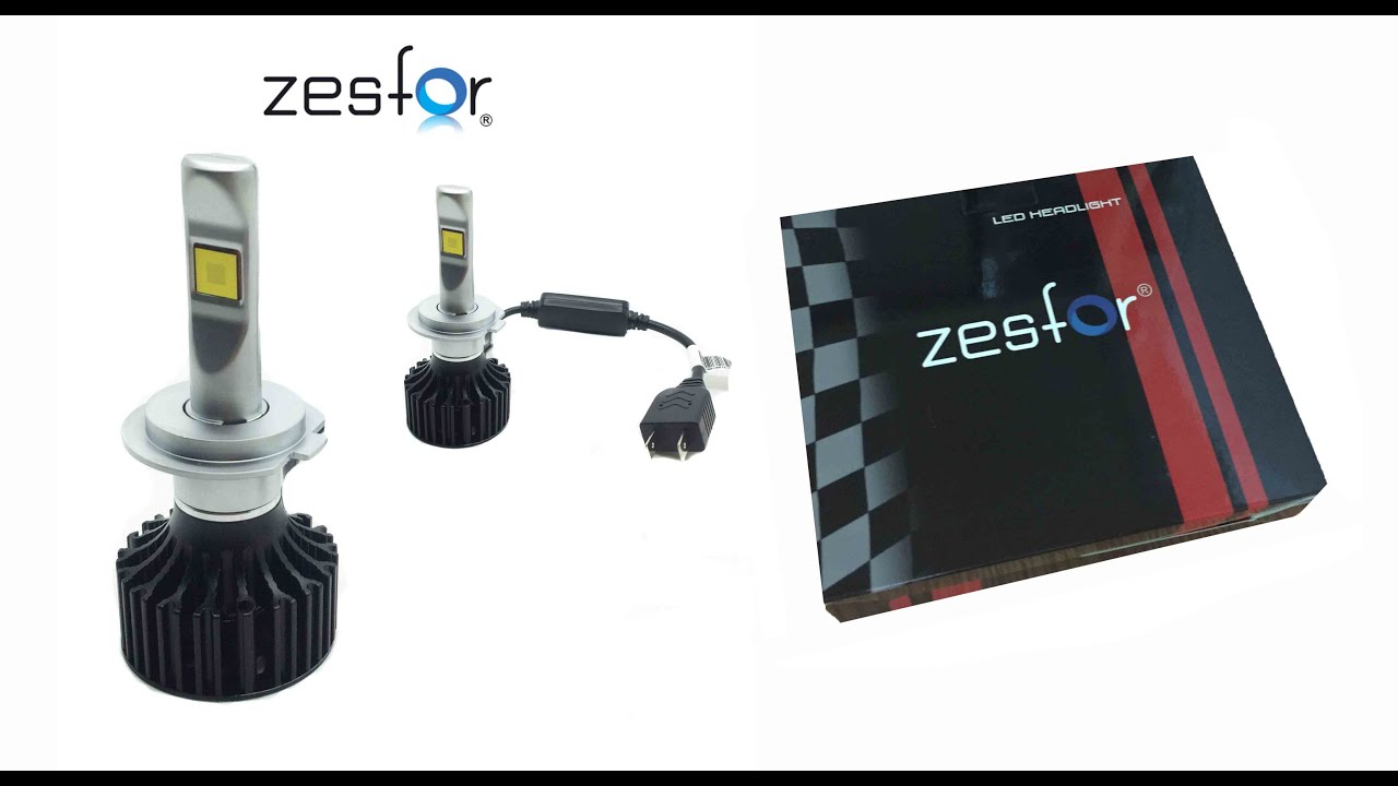 Bombillas Led H7 Canbus.Zesfor Car Led Headlight With Canbus