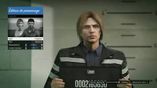 GTA 5 ONLINE - Leon S Kennedy Character Creation