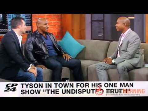 "Mike Tyson puts ""rat piece of shit"" reporter in his place"