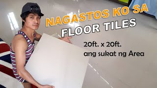FLOOR TILES INSTALLATION NAGASTOS KO