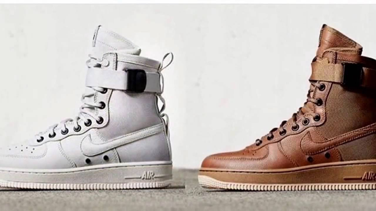 Most hyped AF1 In A while Nike SFAF 1 YouTube