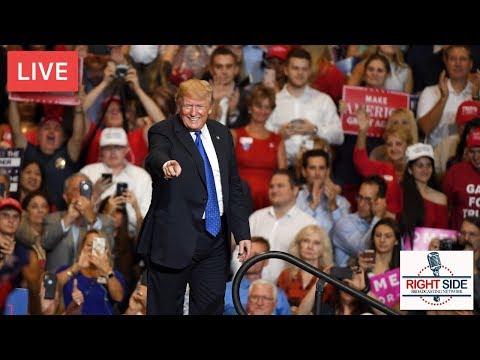 LIVE: President Donald J. Trump Rally in Huntington, WV 11-2-18