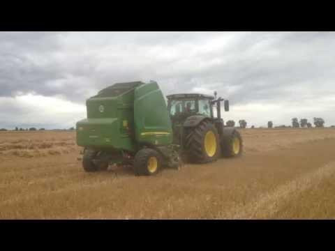 LHERMITE AGRI : 6155R avec PRESSE JD 864 PACK *DEMO 2016*