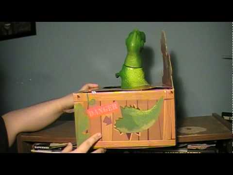 Toy story collection rex the roaring dinosaur review youtube - Dinosaure toy story ...