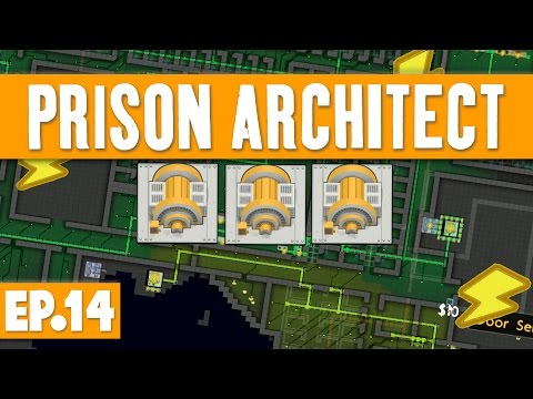 Prison Architect - MULTIPLE POWER GRIDS! #14