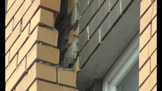 В Липецке разрушается новостройка