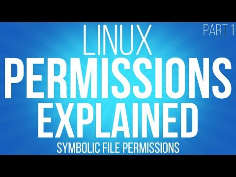 Linux file permissions explained. symbolic permissions and c