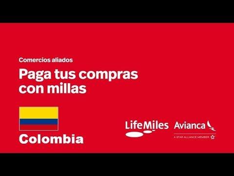 Comercios Aliados Colombia: Paga con millas en comercios aliados LifeMiles