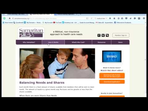 Heath Coverage Options for the Online Entrepreneur: Samaritan Ministry