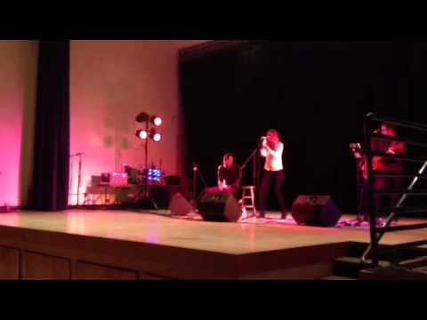 Hope Nix performs at Janesville School's Save the Music Concert