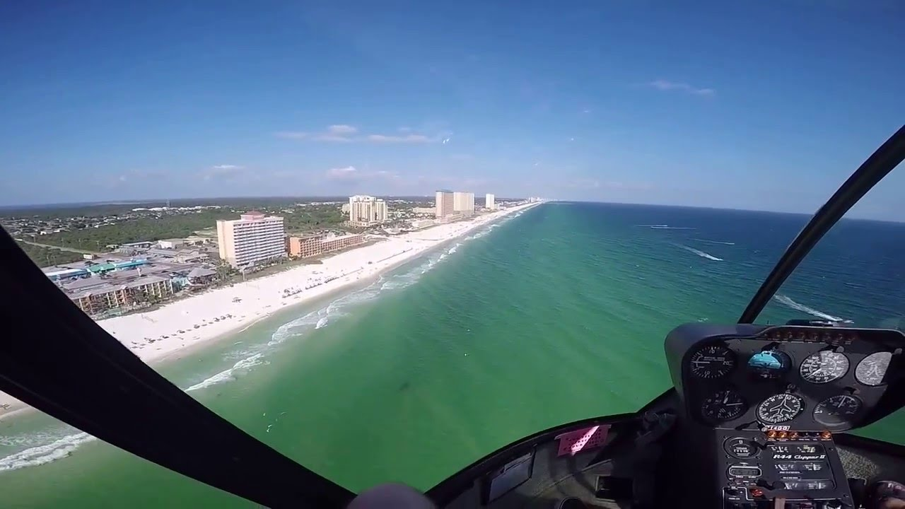Helicopter Ride Over Panama City Beach Florida
