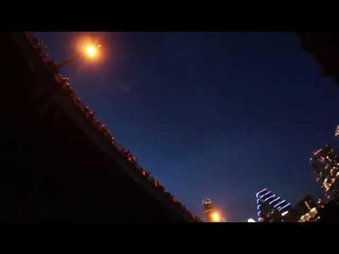 El espectaculo de los murcielagos de Austin, Texas, EEUU 2013 /1
