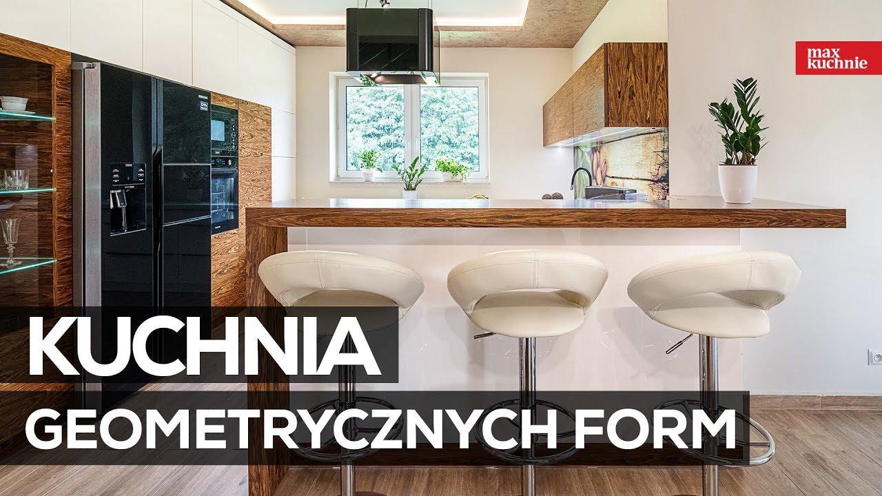 Kuchnia Geometrycznych Form Max Kuchnie Studio Słonex Rabka Zdrój