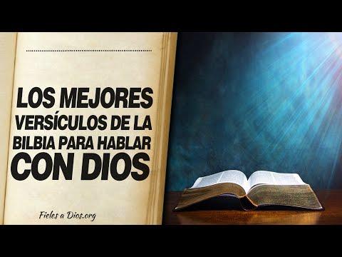 🙏 Los Mejores Versículos DE LA BIBLIA PARA PODER HABLAR CON DIOS 📖