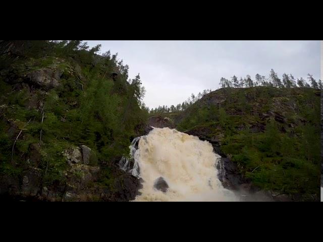 FPV over Muddusfallet Sweden
