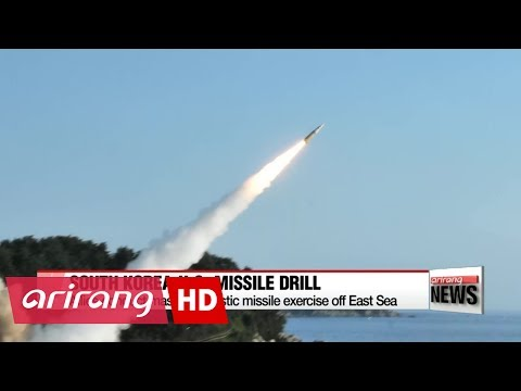 South Korea, U.S. fire missiles into East Sea in response to North Korea's ICBM test