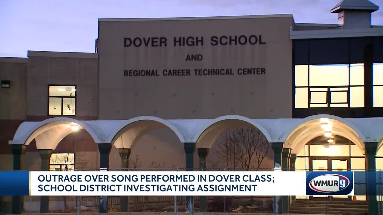 Outrage over song performed in Dover classroom