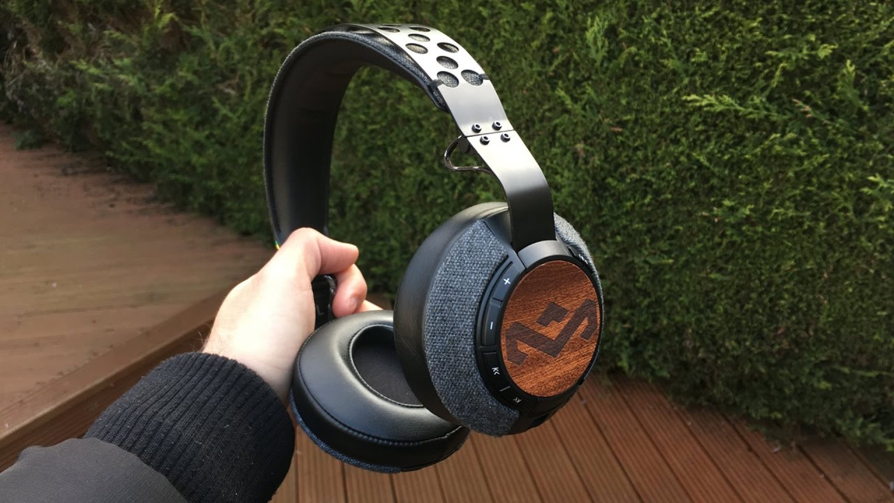 house of marley liberate xlbt bluetooth headphones review - youtube