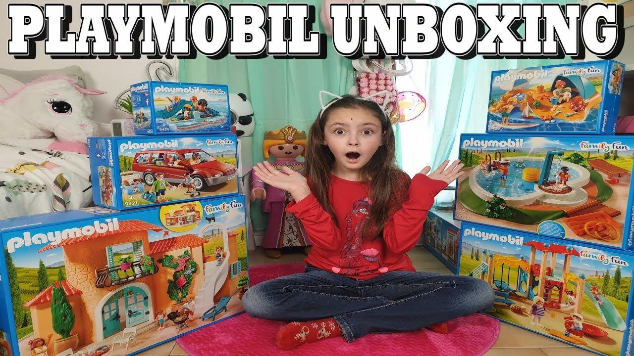 PLAYMOBIL UNBOXING : La maison de vacances (8, 8, 8, 8, 8,  8)